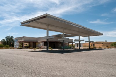 Relic of a Future World - Gas Station